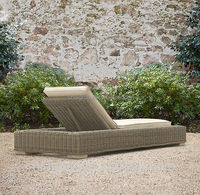 2015 Hot Sale Grey Classic Chaise Wicker Rattan Garden Lounge DaybedSGY-14039C-1