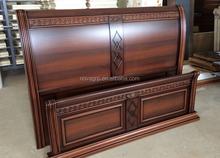 antique european wooden bedroom sets furniture,brown color model 9088