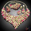 nuevo diseño árabe boda joyería conjunto al por mayor alibaba joyas dubai