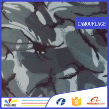 100 cotton blue poplin printed camouflage fabric wholesale