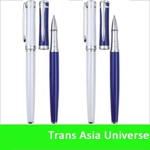 2015 Promotion Classical Metal Roller Pen Golden and Silver clip and tip