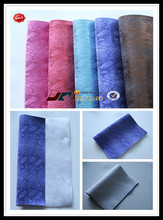 top grade glitter printed fabric for bags