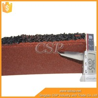 25mm thick badminton court rubber flooring for used