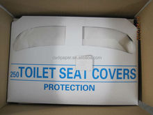 1/2 fold Eco-friendly disposable tissue paper toilet seat covers