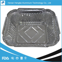 disposable aluminium foil container certified with FDA, SGS, HACCP, KOSHER