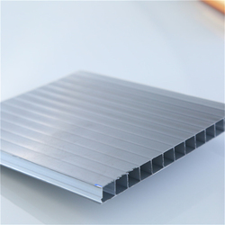clear and colored roofing/awning/partitions polycarbonate hollow sheet