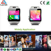 2015 Fashion smartwatch GV08 smart watch OEM support many mobile phone with bluetooth