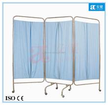 3 panel folding hospital ward screen cheap screen