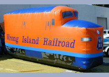 18 foot Train/inflatable replica