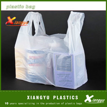 PE T-shirt plastic shopping bag
