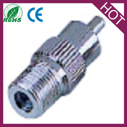 high quality rca male to f female plug jack coax cable vidio cctv