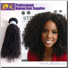 Wholesale 100% Virgin Brazilian Human hair extensions,braiding afro kinky Human hair,Brand name Dk 100% cheap Human hair bulk