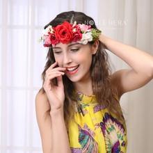 Free Samples 2015 Wholesale Bridal Flower Hair Accessories