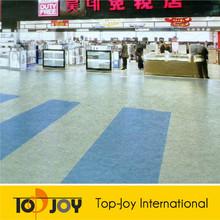 Indoor Usage PVC Plastic Commercial PVC Roll Flooring