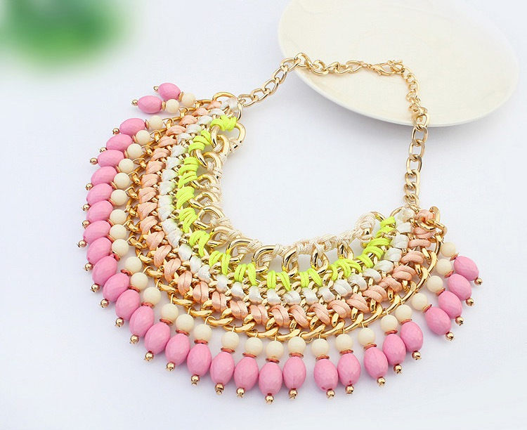 2015 new Genuine oem necklace , Wholesale Cheap Fashion statement Jewelry