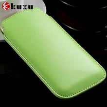 New hot product Thin pu leather pouch for i phone 6 for sale supplier