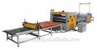 PUR Hot Melt Glue Laminate Machine for MDF Board