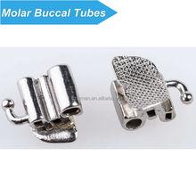 Good performance orthodontic triple molar buccal tube