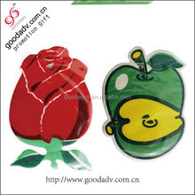 guangzhou factory price New custom Flower scent rose car air freshener