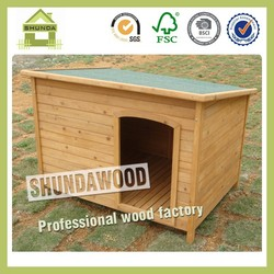 SDD06 Flat Wooden Dog Houses