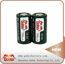 9 Years 0 RISK !!! Gokey 1000mAh 18500 Rechargeable Battery 3.7V Gokey 18350 18500 18650 mAh Battery Mod