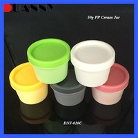 PLASTIC CONTAINER COSMETIC JAR MATT BLACK FOR HAIR PRODUCTS