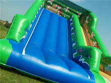 Funny Inflatable Castle Bouncer /inflatable slip and slide