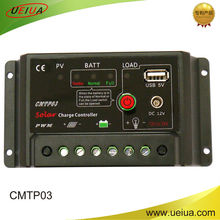 48V20A Factory direct solar charge controller with USB & electronic load switch