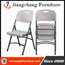 Good Selling Metal Legs Plastic Folding Chair In China JC-H306