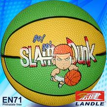 good new official size new style rubber made toy rubbery basketball