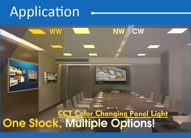 표면 장착 ip44 초박형 광장 smd 36 와트 빛 led 패널