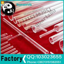 Clear glass tube quartz products