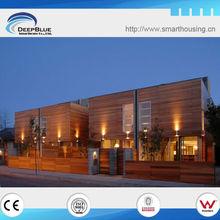 Wooden Villa house(luxury steel prefabricated)