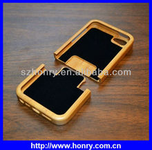 Hot sale wooden case for Iphone 5/6,Best quality for iPhone 5 wooden case bamboo cover