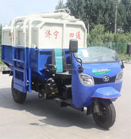 Best selling mini small 2 cbm capacity compactor garbage truck for sale