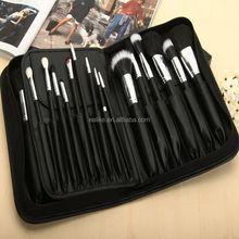 Cheap private label professional custom cosmetic brushes,private label travel size cosmetic brush set