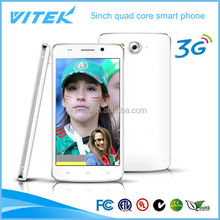 China supplier 5inch 3G android rotatable cell phone