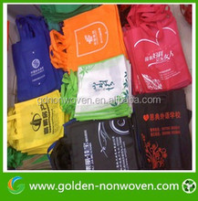 Factory Price Eco Friendly Shopping Carry Foldable Nonwoven Bag