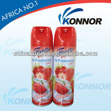 Manufacturer price high quality lemon air freshener spray natural air freshener 300ml aerosol car air freshener