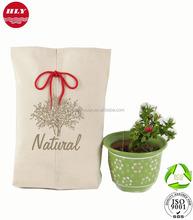Wholesale Custom 10 OZ Natural Drawstring Cotton Packing Small Bags