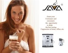 Máquina de café expresso totalmente automática com leite Built in