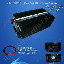 Water Pump Frequency Inverter , Off Grid 4000W Power Inverter for Car DC to AC