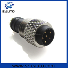 iec61076 m8 connector 6pin male and female connector for soldering