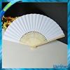blank customized paper bamboo hand fan