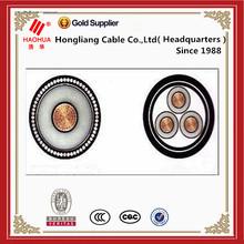 Electrical round black medium voltage cable sizing calculator