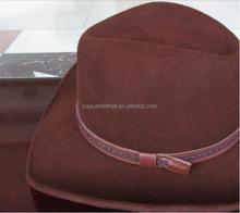 wholesale cheap fashion men felt cowboy hat