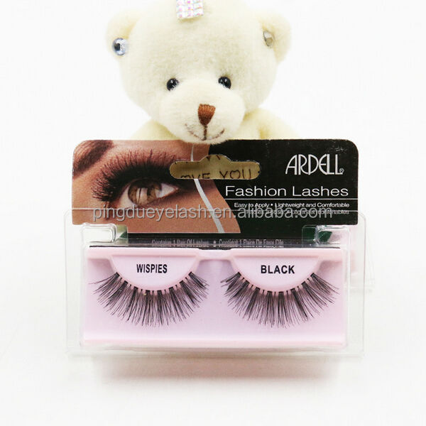 Human Hair False Eyelashes Wholesale 21