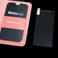 For Sony Xperia Z3 back glass screen 0.33mm 2.5D 9H Import Japan Glass Screen Protector with retail box By mocolo brand