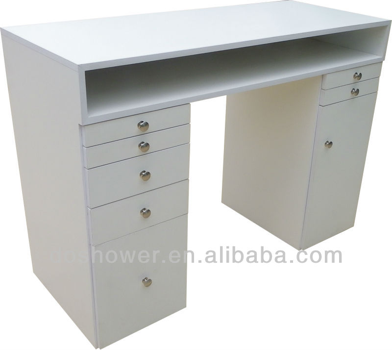 White nail bar table beauty salon furniture nail table for sale buy white nail bar table - Table bar salon ...