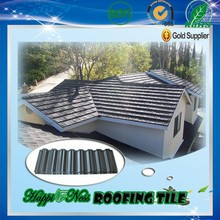 Colorful Stone Coated Chip Steel Roof Tile (metal Roofing Sheets) Gaoyao